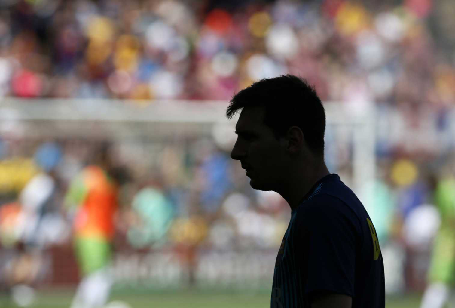 Lionel Messi shadow