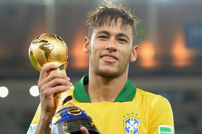 Neymar in Brazil World Cup 2014