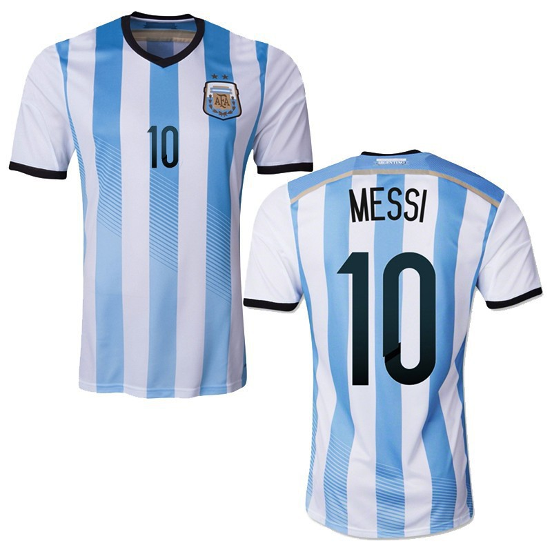 Argentina's FIFA World Cup 2014 Lionel Messi jersey