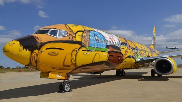 Brazil National Team airplane for the 2014 World Cup