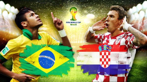 Brazil vs Croatia, World Cup wallpaper