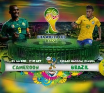 Brazil vs Cameroon: One last step before the knockout stages