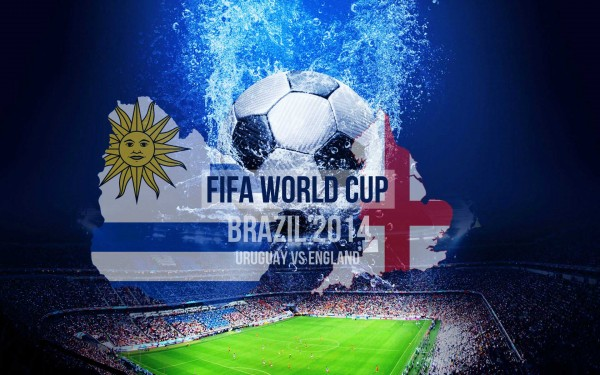 FIFA World Cup 2014 wallpaper, Uruguay vs England