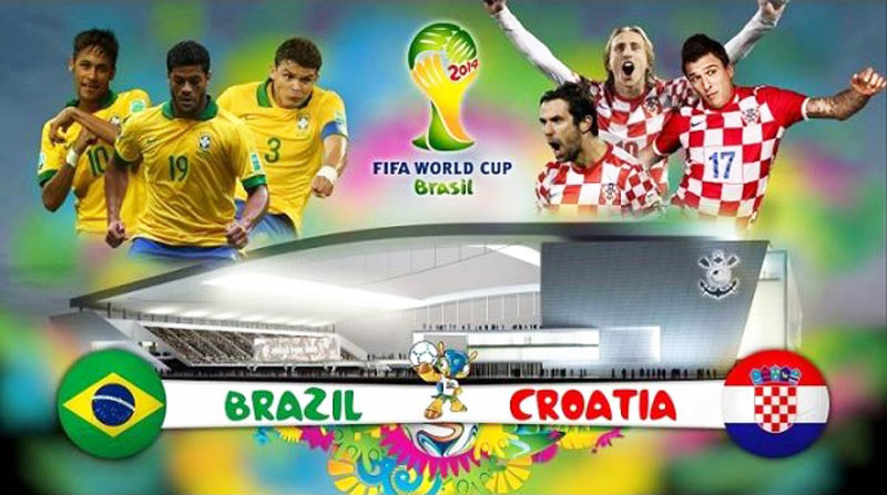 FIFA World Cup opening match: Brazil vs Croatia