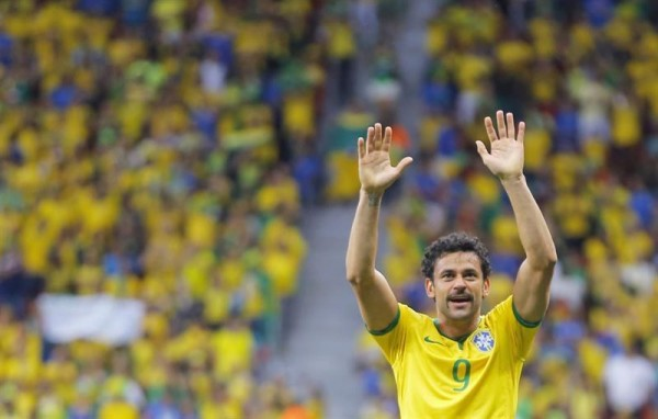 Fred, Brazil striker in the FIFA World Cup 2014