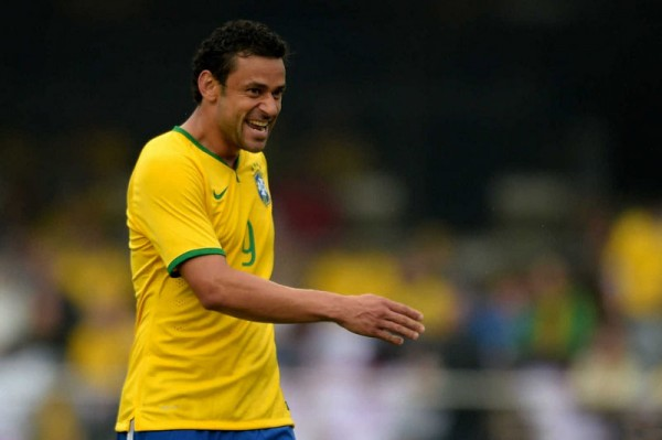 Fred - Brazil striker in the World Cup 2014