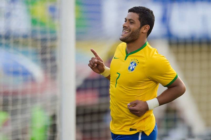 Hulk, Brazil forward for the World Cup 2014