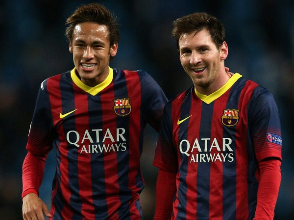 Neymar and Messi best friends in FC Barcelona