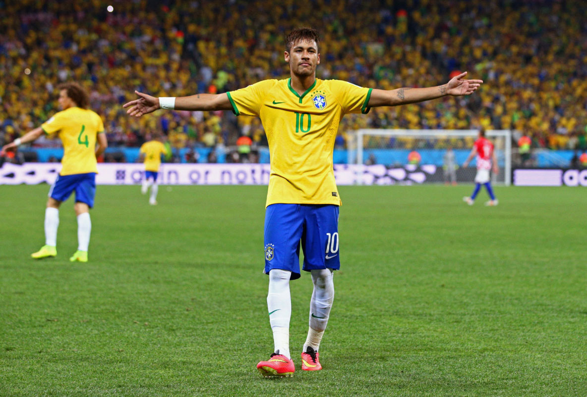 Neymar becomes Brazil's hero in World Cup debut