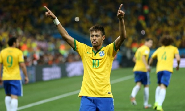 Brazil 3-1 Croatia: Neymar's double delivers first win to the hosts