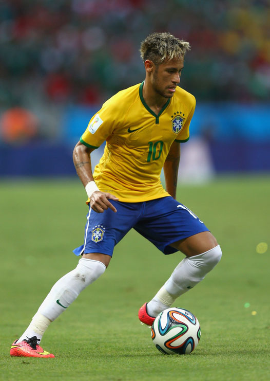 Neymar in the FIFA World Cup 2014