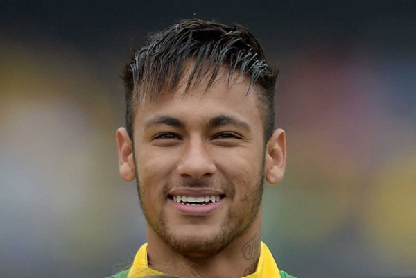 Neymar haircut and hairstyle in the World Cup 2014