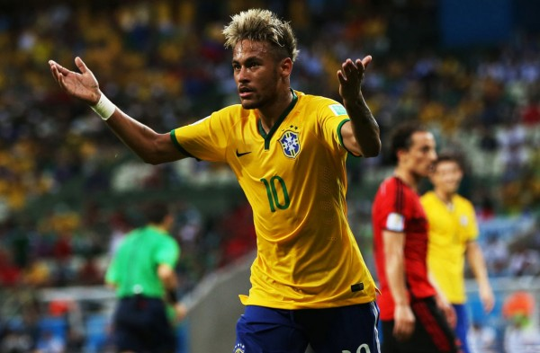 Neymar new look in the FIFA World Cup 2014