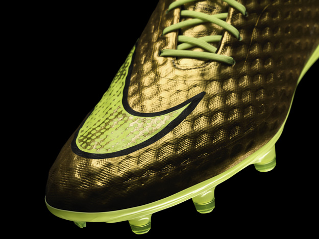 Neymar's Nike Hypervenom golden boots for the FIFA World Cup 2014