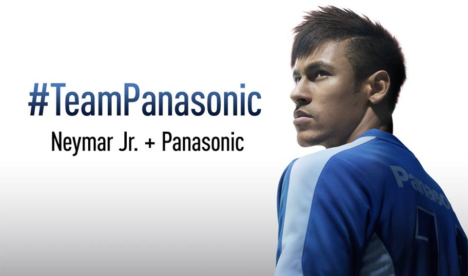 Neymar teams up with Panasonic