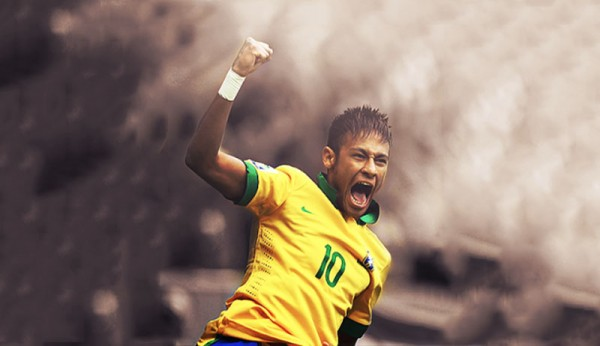 Neymar Brazil wallpaper theme in 2014