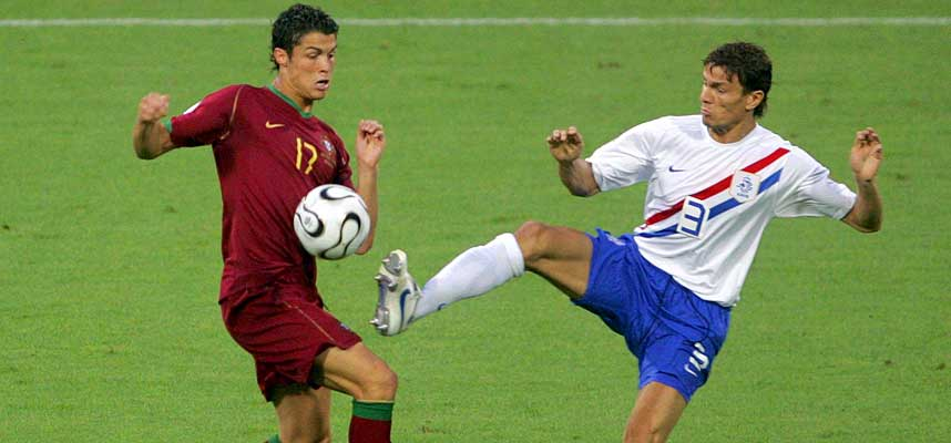 Boulahrouz vs Cristiano Ronaldo in the World Cup 2006