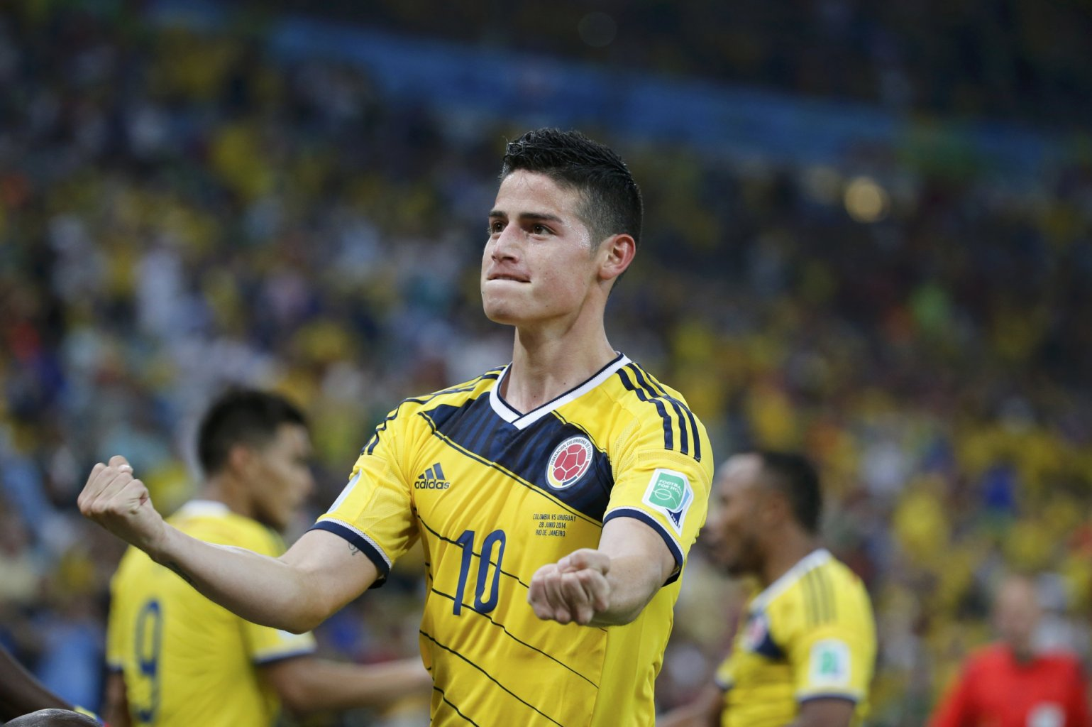 James Rodríguez, the FIFA World Cup 2014 top sccorer
