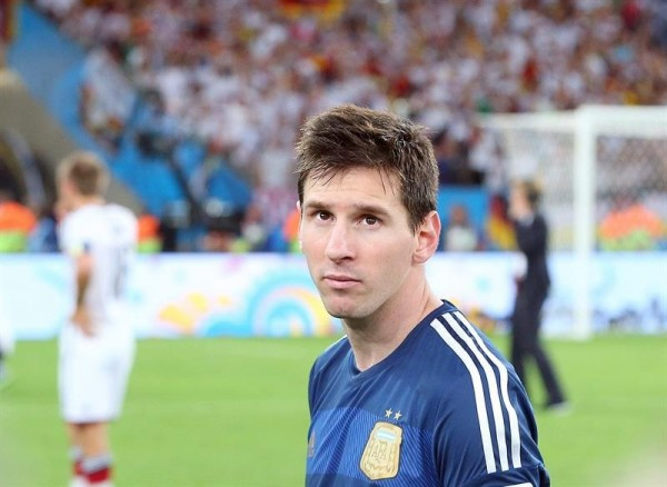Lionel Messi lost look in Argentina