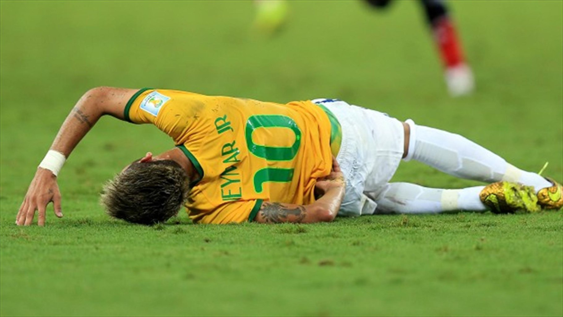 Neymar could have been in a wheelchair after his injury where he got with a knee on his back