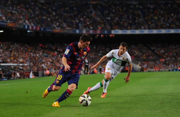 Lionel Messi in Barcelona 3-0 Elche