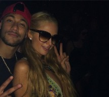 Neymar hangs out with Paris Hilton in Ibiza