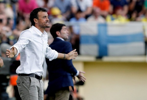 Luis Enrique, Barcelona coach in 2014-2015