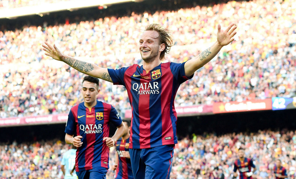 Rakitic in FC Barcelona 2014-2015
