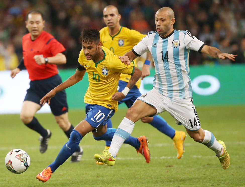 Brazil 2-0 Argentina: Neymar outshined Messi in the ...
