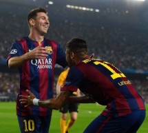 Barcelona 3-1 Ajax: Neymar and Messi lead the way