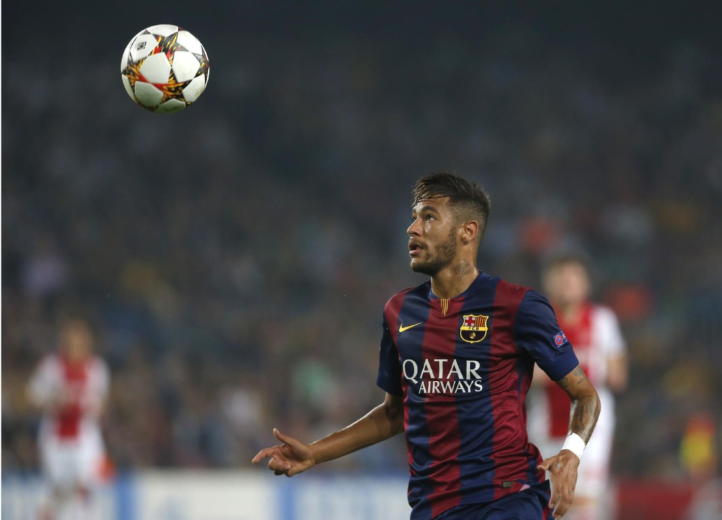 Neymar in Barcelona vs Ajax
