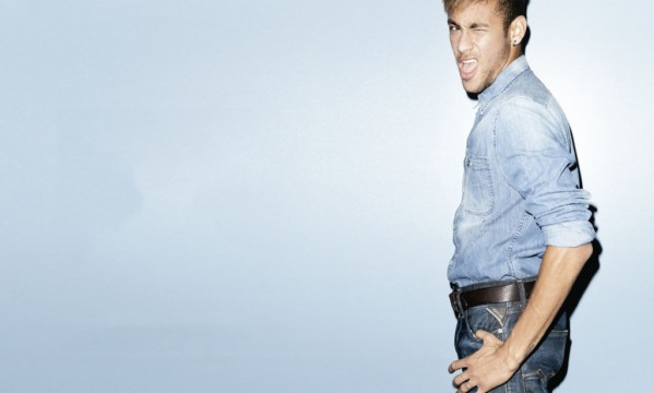 Neymar stars in a new jeans commercial for Replay