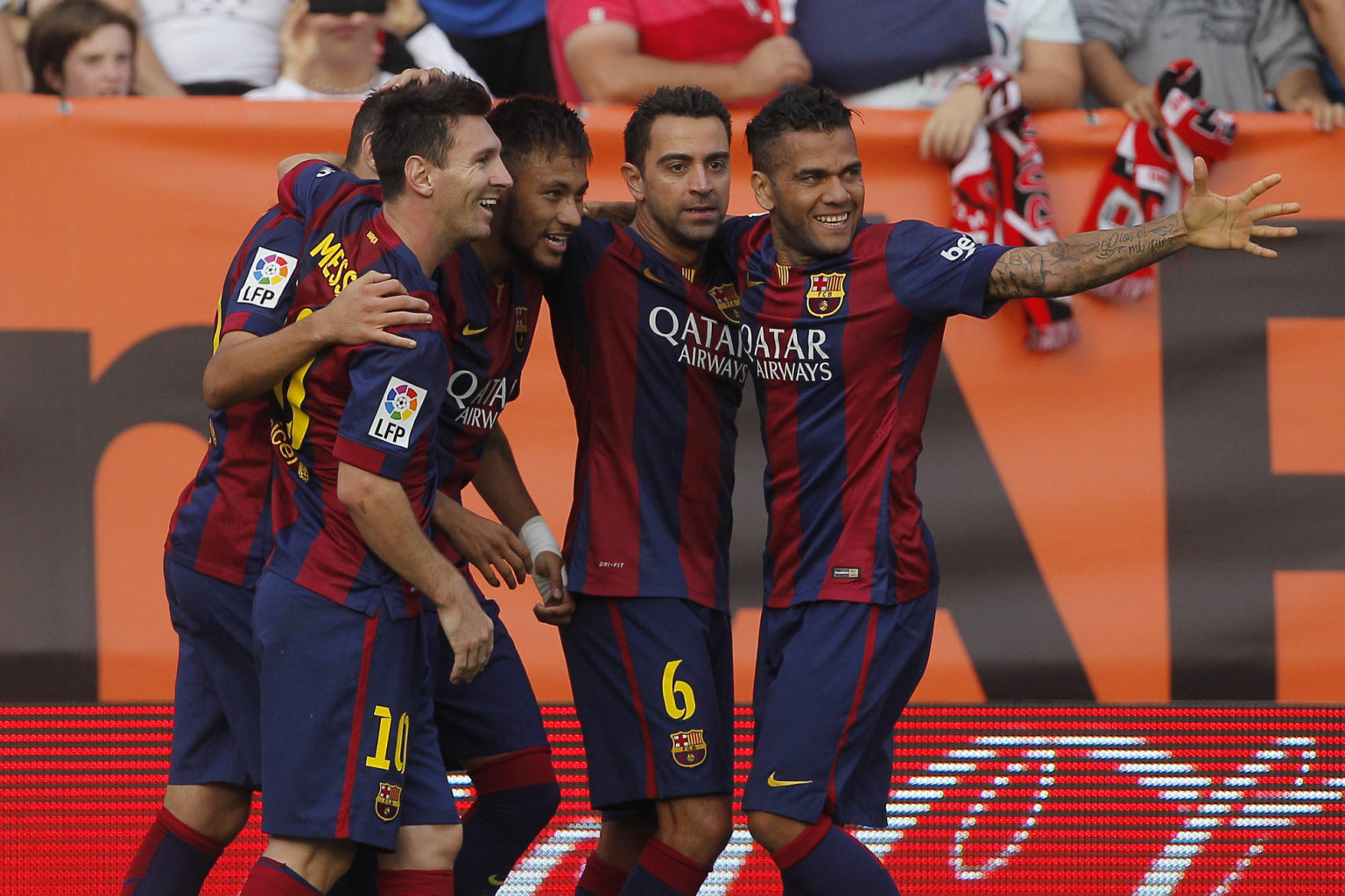 Neymar well adapted to his Barcelona teammates