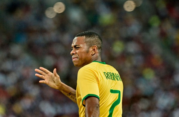 Robinho in the Brazilian National Team