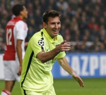 Ajax 0-2 Barcelona: Messi equals Raúl's goal-scoring record