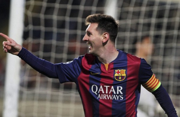Lionel Messi breaks Champions League all-time scoring record