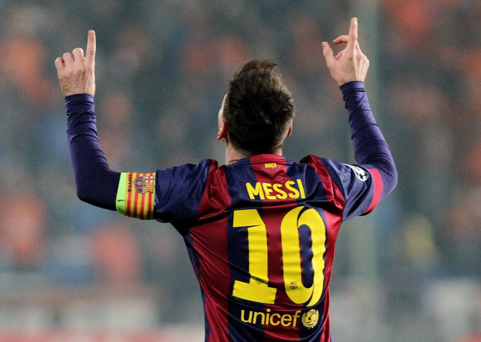 Lionel Messi hat-trick in APOEL vs Barcelona