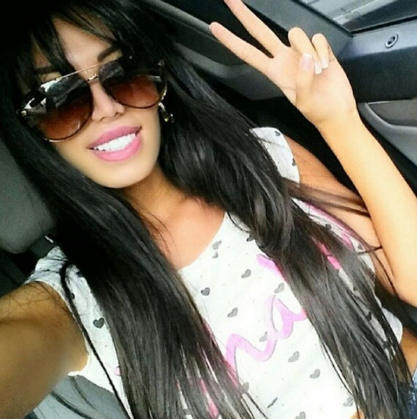 Neymar's new girlfriend, Soraja Vucelic photo
