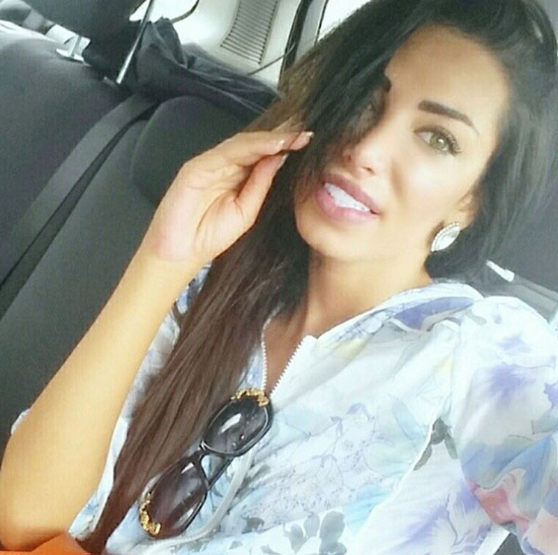 Soraja Vucelic, Neymar's new girlfriend in 2014, picture