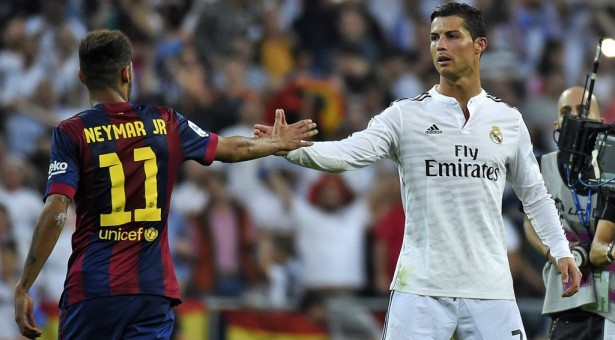 """Neymar: """"Messi and Cristiano Ronaldo are still on a different level"""""""