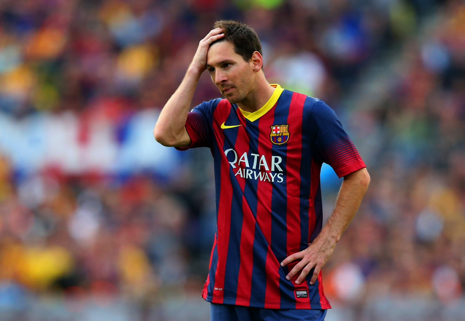 Lionel Messi having second thoughts about staying in Barcelona