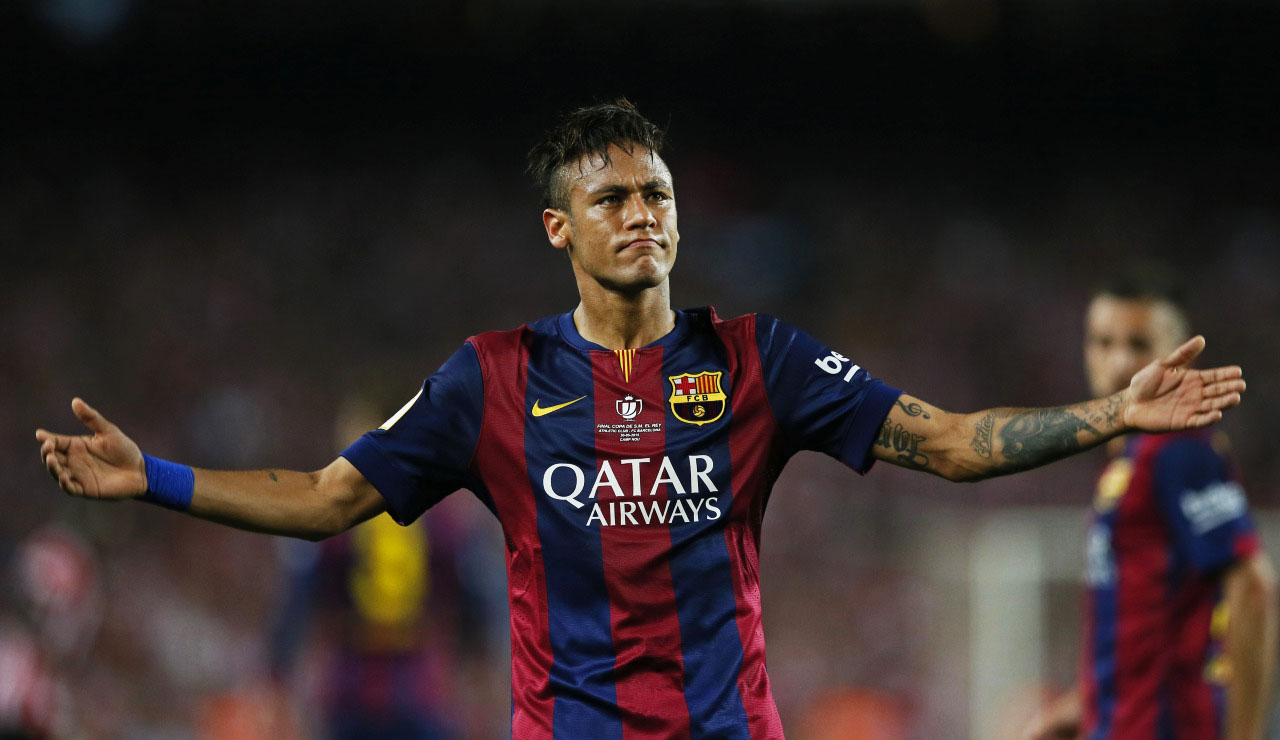 Neymar becoming Barcelona's main man