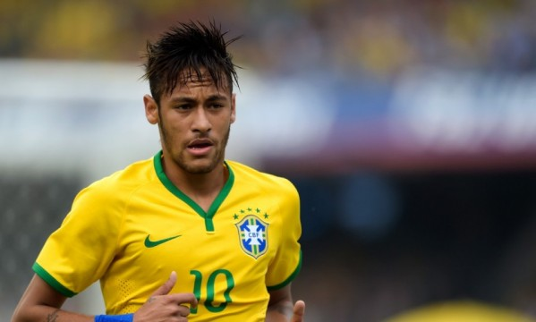 How many times has Neymar been sent off in his career?