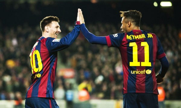 Messi and Neymar best friends in Barcelona
