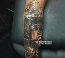 Neymar's new tattoo: His childhood dream!