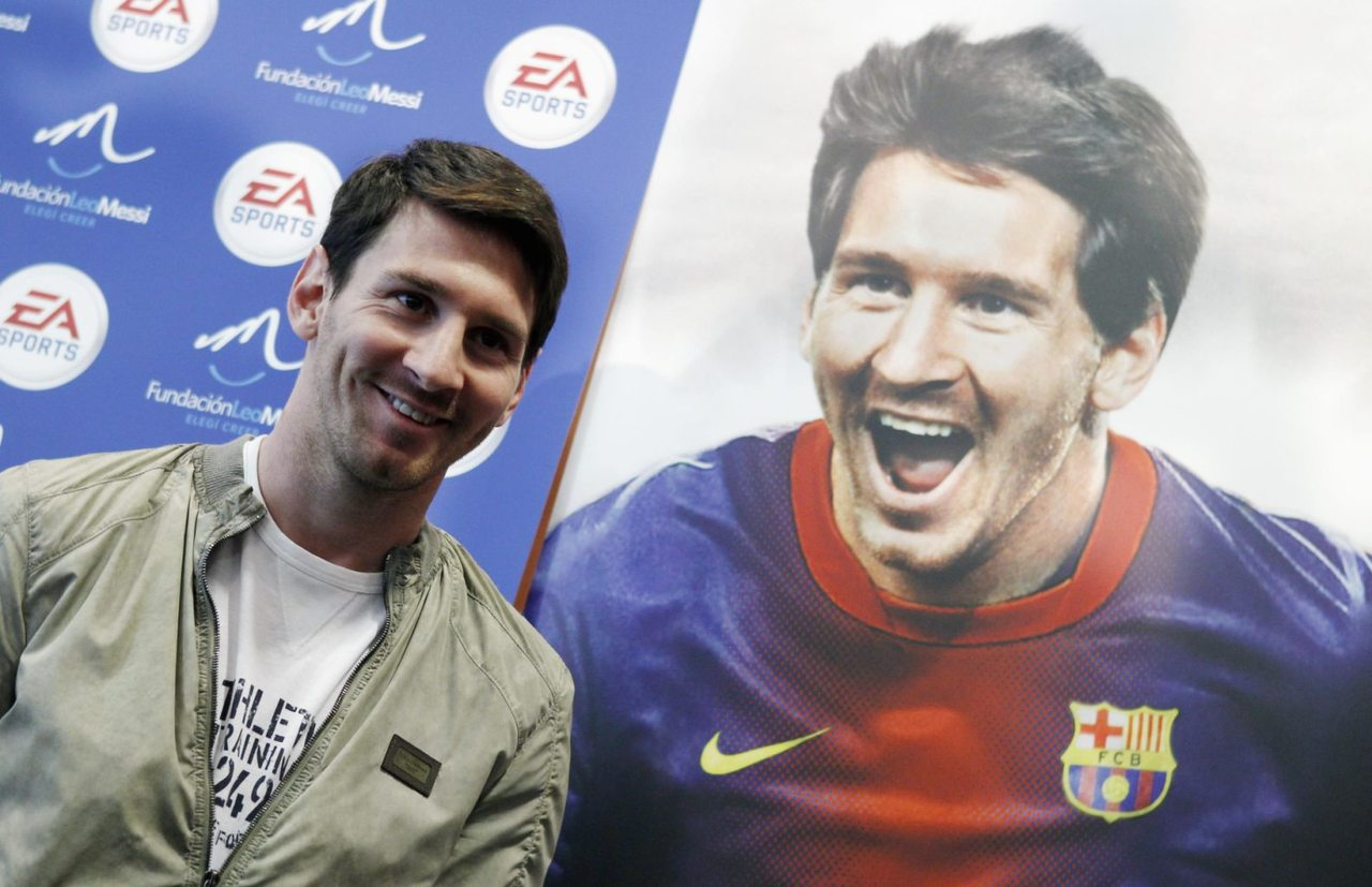 Messi and his EA Sports FIFA deal