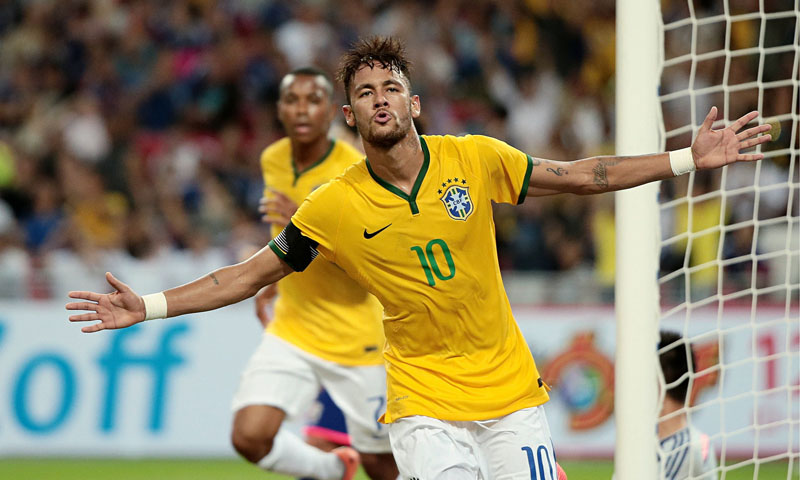 Neymar in the Brazilian National Team