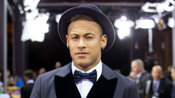 Neymar all suited up