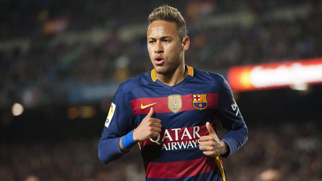 Neymar in FC Barcelona in 2016