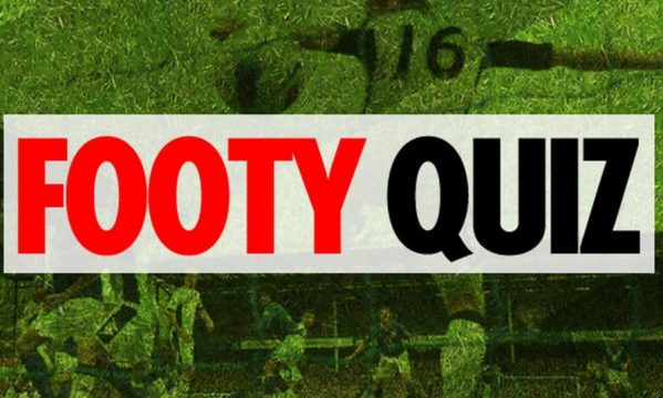 Test your football knowledge with an anagram quiz